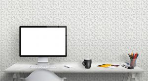 3D Wallpaper #22 - TST | TST custom wallpaper | White Pattern Wallpaper | Wallpaper Printer JHB