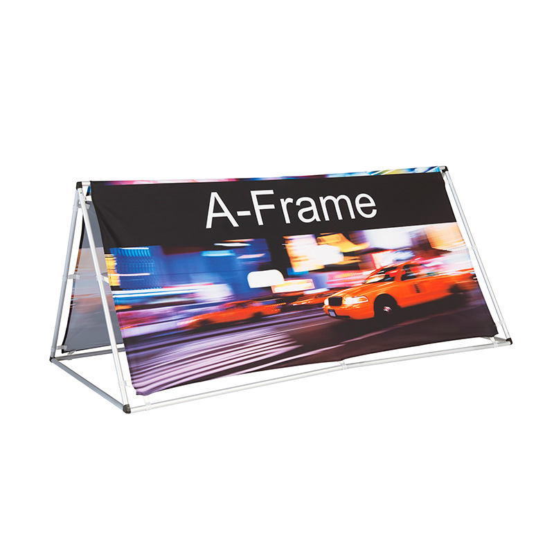 A-Frame | Branded A-Frames | 3 Sided frame with branding