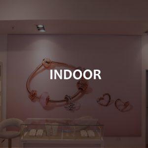 Indoor Fabric Frames | Indoor Retail Branding
