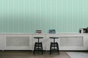Modern Wallpaper #03 - TST | TST custom wallpaper | Wallpaper Printer JHB | Teal Wallpaper | Home Wallpaper
