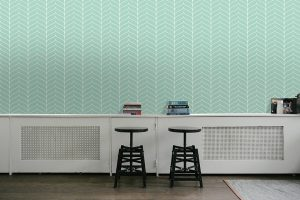 Modern Wallpaper #03 - TST | TST custom wallpaper | Wallpaper Printer JHB | Teal Wallpaper | Home Wallpaper