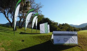 Sharkfin Banners | A-Frames | Outdoor Branding for Golf