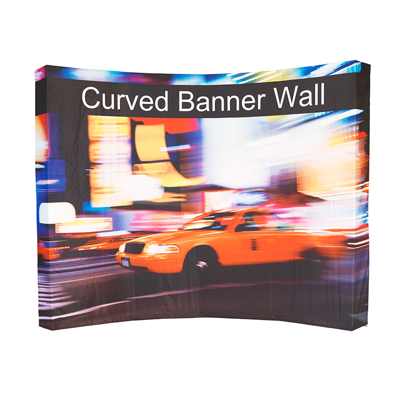 Curved Banner Wall | Fabric printed curved wall | Arched bannerwall supplier in JHB | Curved banner wall printer | Semi circular banner wall