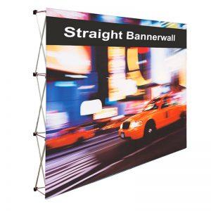 Straight Bannerwall