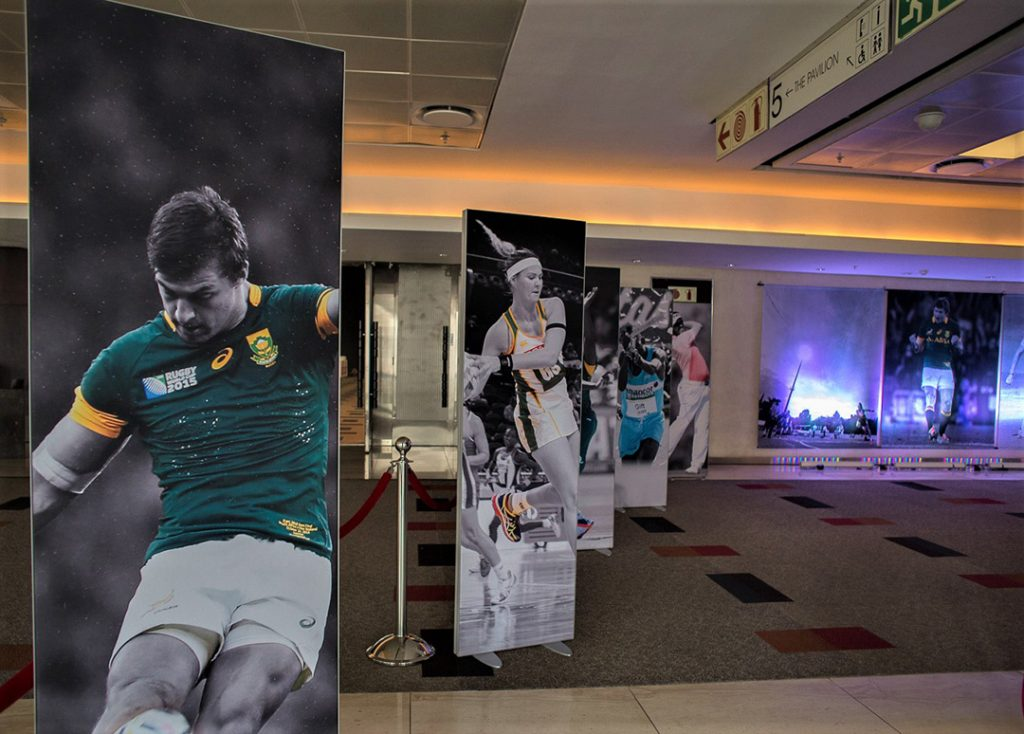 Freestanding Fabric Frames Events | Branding Event Supplier in Johannesburg