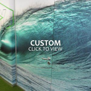 Custom Wallpaper in Office