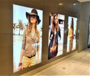 Mall Lightboxes