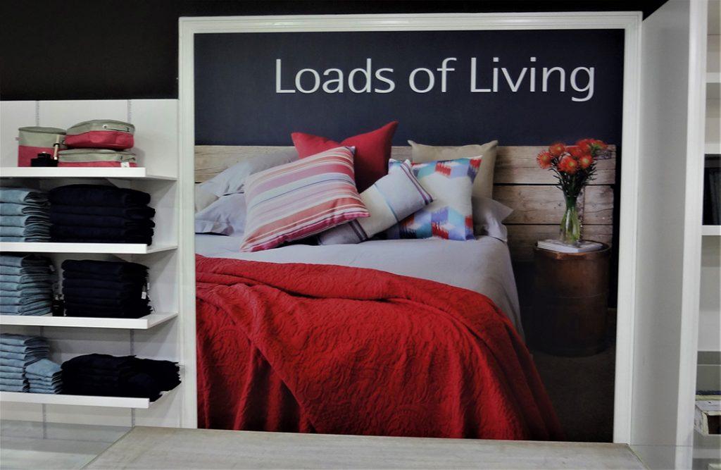 Store Fabric Frame Branding