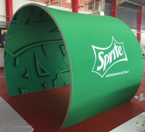 Fabric Tunnel | Archway for Events | Arch supplier JHB