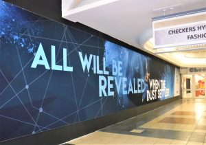 Wall Branding within Shopping Mall