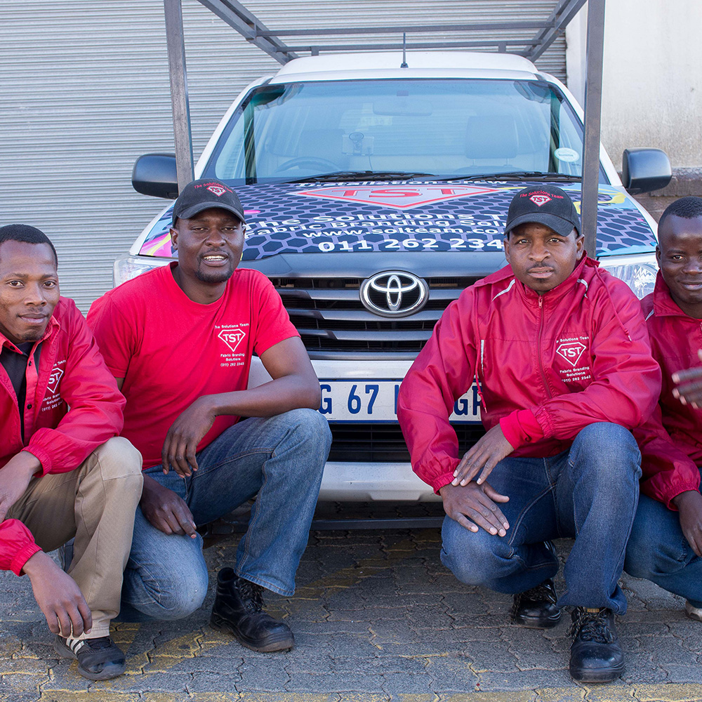 Our Installation Team   The Solutions Team