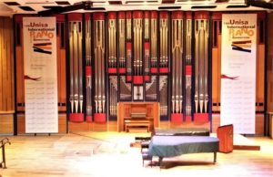 Hanging Banners at Event in JHB