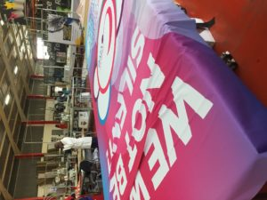 Cancervive fabric banner