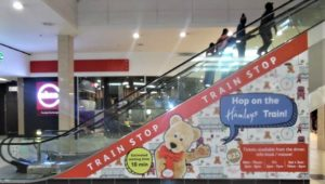 Escalator Branding