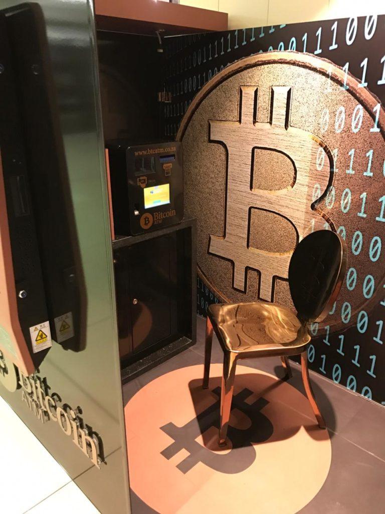 BitCoin ATM Interior