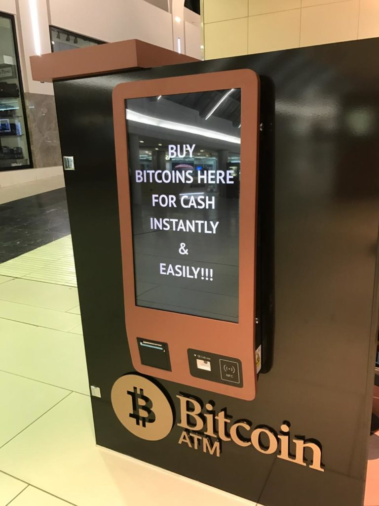 Branding on a Crypto Currency ATM