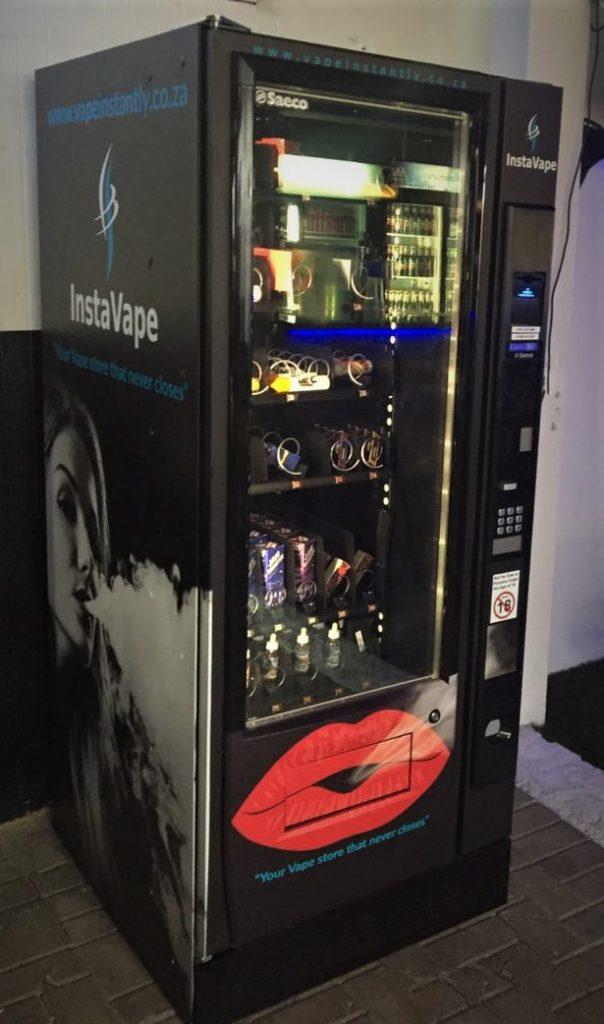 Vinyl branding for Vending Machines