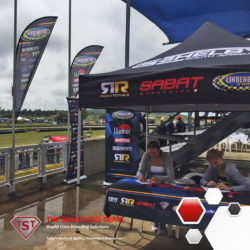On the weekend we had the privilege and honour of partnering with Lindenberg Racing at Zwartkops for their first racing event of the year. The TST branding of shark fins, gazebo's, banner walls and more, definitely created the perfect backdrop for the stars of the show!